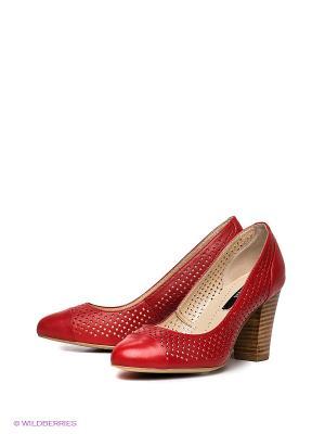 Туфли P.Cont. Цвет: красный