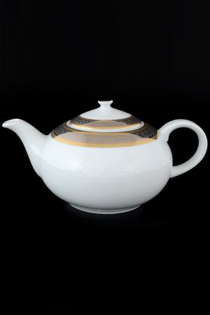 Чайник 1,2 л Bohemia. Цвет: белый, золотой, серебряный