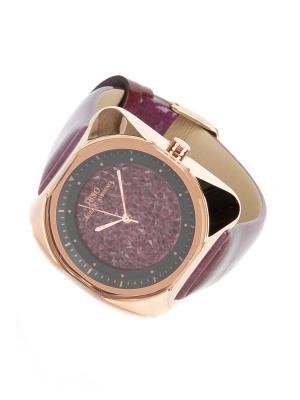 Часы на ремне IBSO. Цвет: сиреневый, золотистый