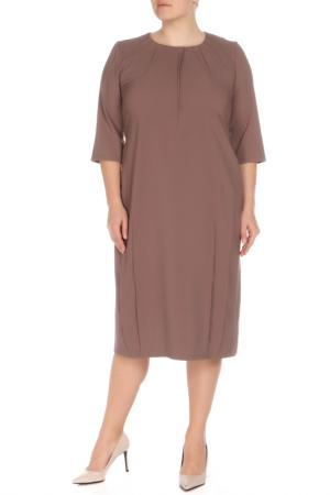 Платье Amazone. Цвет: кофе с молоком