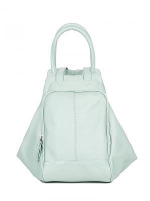 Сумка-рюкзак Fabio Bruno. Цвет: бирюзовый