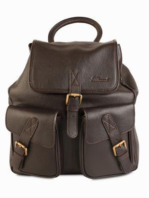 Рюкзак Ashwood Leather. Цвет: темно-коричневый