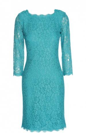 Платье Diane Von Furstenberg. Цвет: бирюзовый
