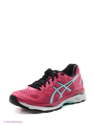 Спортивная обувь GEL-KAYANO 23 ASICS. Цвет: коралловый, розовый, синий