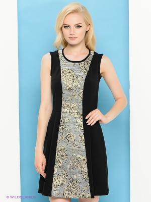 Платье Trussardi. Цвет: черный