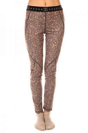Термобелье (низ) женское DC Seema J Hebon Leopard Shoes. Цвет: коричневый,черный