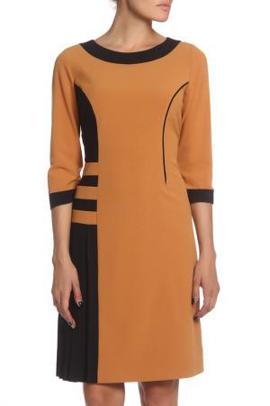 Платье MODART. Цвет: желтый