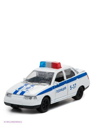Машина Технопарк. Цвет: белый, синий