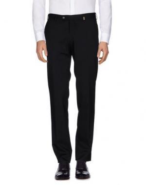 Повседневные брюки GIO ZUBON. Цвет: черный