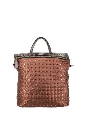 Рюкзак женский Bonilarti Oalengi. Цвет: бронзовый