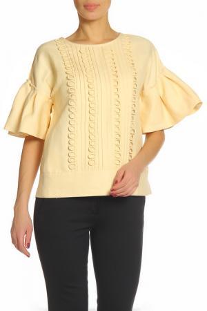 Блуза ZHOR&NEMA. Цвет: ванильный