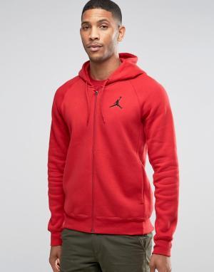 Jordan Красный худи Nike Jumpan Flight 823064-687. Цвет: красный