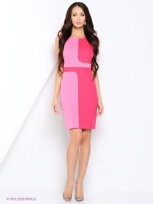 Платье Hammond. Цвет: розовый