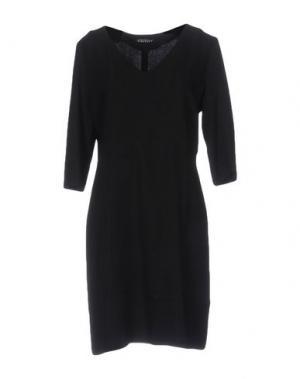 Короткое платье LAURA URBINATI. Цвет: черный