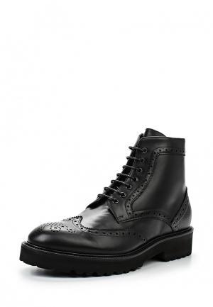 Ботинки классические Guardiani Sport. Цвет: черный