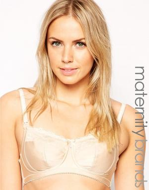 Hotmilk Maternity Eclipse Full Cup Nursing Bra. Цвет: телесный