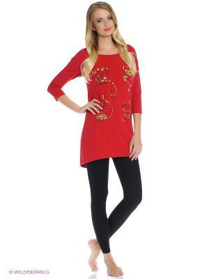 Пижама PELICAN. Цвет: красный