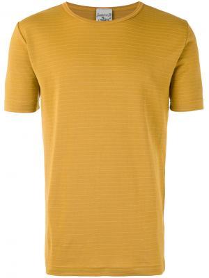 Футболка Lemma S.N.S. Herning. Цвет: жёлтый и оранжевый