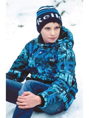 Куртка REIKE. Цвет: синий