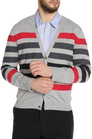 Пуловер Hugo Boss Orange. Цвет: серый, синий, розовый
