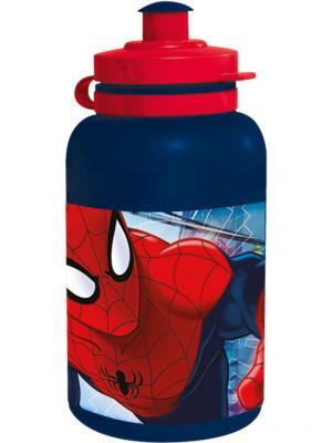 Бутылка пластиковая (спортивная, 400 мл). Великий Человек-паук Stor. Цвет: красный, темно-синий