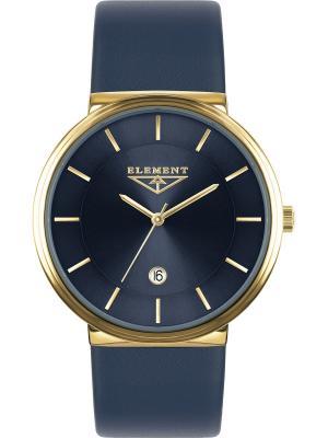 Часы 33 ELEMENT. Цвет: желтый, синий, золотистый