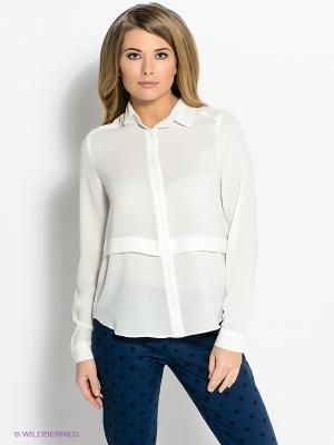 Блузка New Look. Цвет: молочный