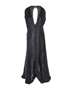 Длинное платье IRIS VAN HERPEN. Цвет: черный