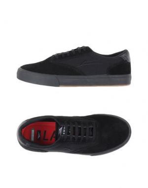 Низкие кеды и кроссовки LAKAI. Цвет: черный