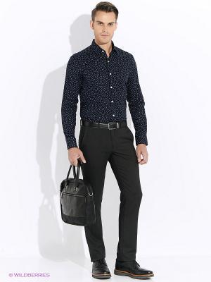 Рубашка Club21. Цвет: темно-синий, синий