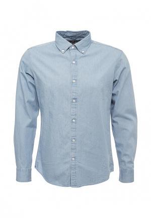Рубашка джинсовая Michael Kors. Цвет: голубой