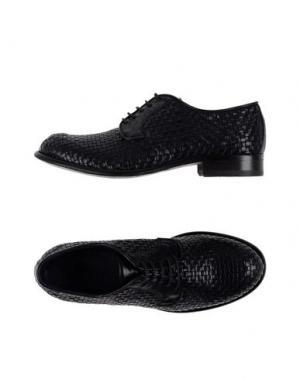 Обувь на шнурках ERNESTO DOLANI. Цвет: темно-синий