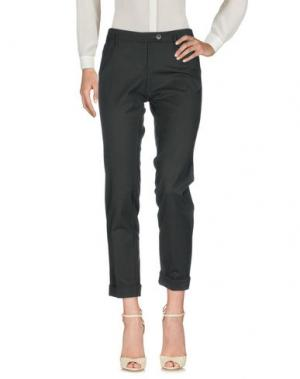 Повседневные брюки GOLD CASE. Цвет: стальной серый