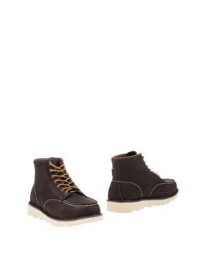 Полусапоги и высокие ботинки HEY DUDE. Цвет: темно-коричневый