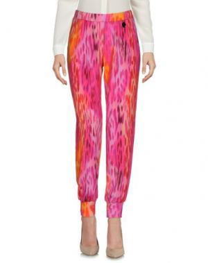 Повседневные брюки 22 MAGGIO by MARIA GRAZIA SEVERI. Цвет: фуксия