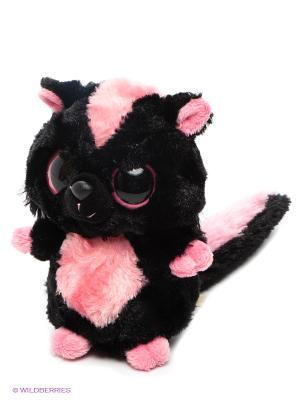Игрушка Полосатый Скунс AURORA. Цвет: черный, розовый