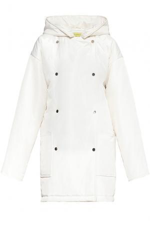 Пальто 178056 Cyrille Gassiline. Цвет: белый