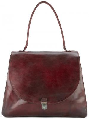 Large lock shoulder bag Cherevichkiotvichki. Цвет: красный