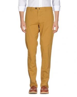 Повседневные брюки NEW ENGLAND. Цвет: охра