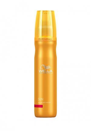 Увлажняющий бальзам для волос и кожи Wella. Цвет: оранжевый