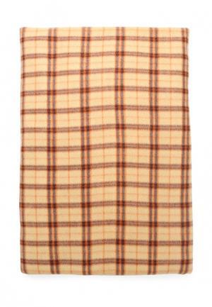 Плед Shelter. Цвет: коричневый