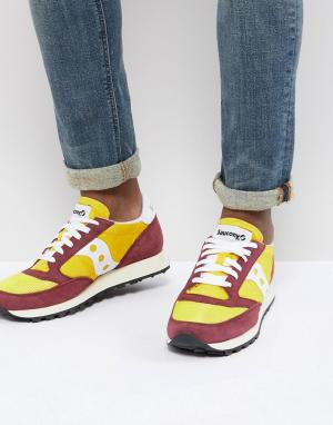 Saucony Желтые кроссовки Jazz Original S70368-16. Цвет: желтый