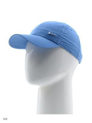 Бейсболка U NSW H86 METAL SWOOSH Nike. Цвет: синий, лазурный