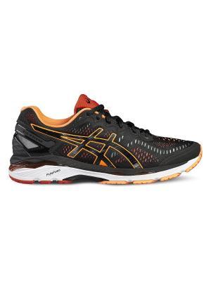 Спортивная обувь GEL-KAYANO 23 ASICS. Цвет: черный, красный, оранжевый