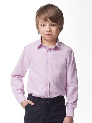 Рубашка Vilatte. Цвет: розовый