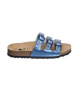 Пантолеты Lico. Цвет: голубой, белый