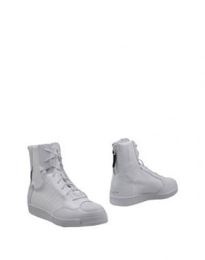 Полусапоги и высокие ботинки YOHJI YAMAMOTO POUR HOMME. Цвет: белый