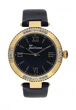 Часы Galliano. Цвет: синий
