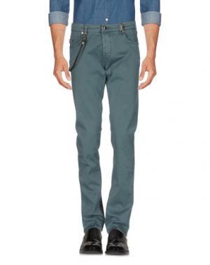 Повседневные брюки TRAMAROSSA. Цвет: зеленый