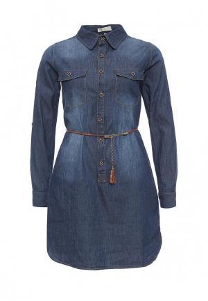 Платье джинсовое Coco Nut. Цвет: синий